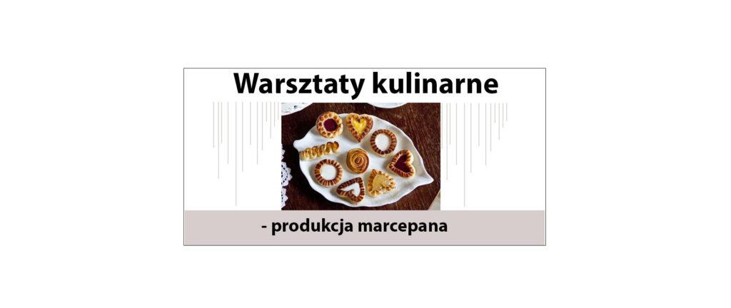 warsztaty kulinarne marcepan